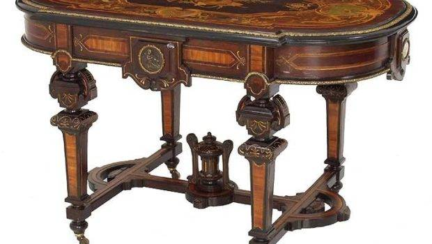 Exceptional Renaissance Revival Rosewood Victorian Center Table