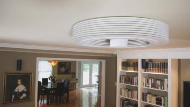 Exhale Fan Looks Very Different Than Traditional Ceiling
