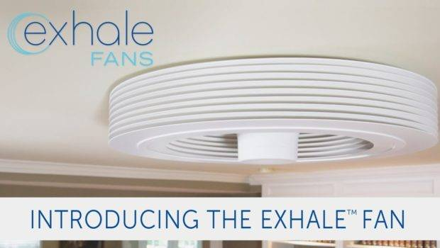Exhale Fans Launches Its Bladeless Ceiling Fan Indiegogo Youtube