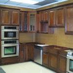Exotic Walnut Kitchen Cabinets Solid Wood Cabinetry