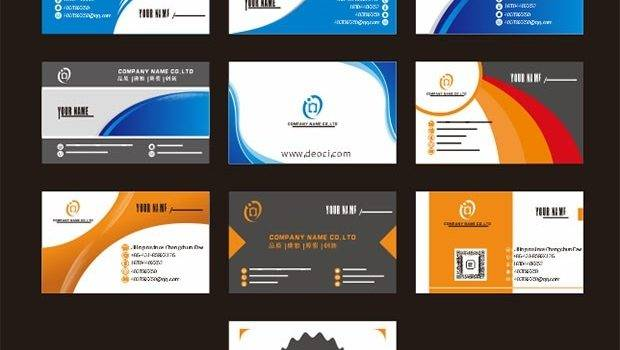 Exquisite Design Business Card Template Cdr