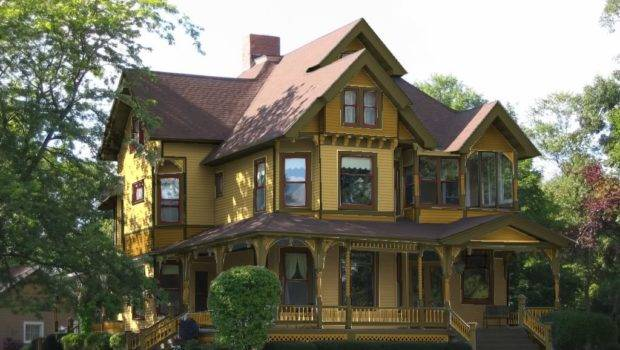Exterior House Color Combinations Yellow Schemes