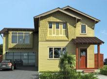 Exterior Paint Green Button Homes
