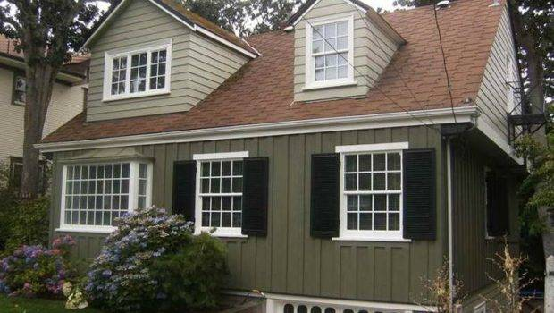 Exterior Paint Ideas Red Brown Roof House Colors