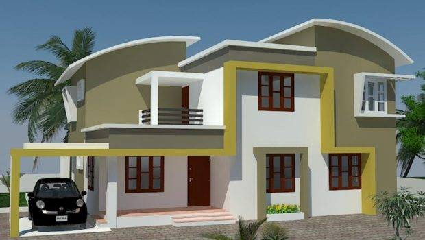 Exterior Painting Kerala Home Design House Designs