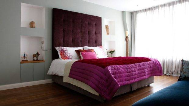 Exterior Plan Luxurious Double Bed Design Small Space Bedroom