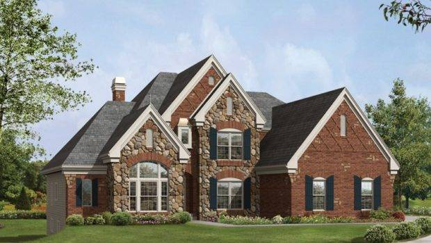 Exterior Stone Brick Combinations Suggestions
