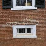 Exterior Window Trim Brick Frame