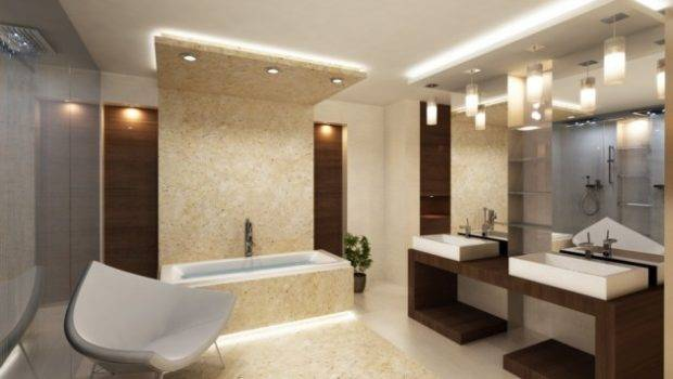 Extravagant Bathroom Ceiling Designs Fall