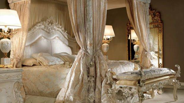Extravagant Luxurious Poster Bed Juliettes Interiors