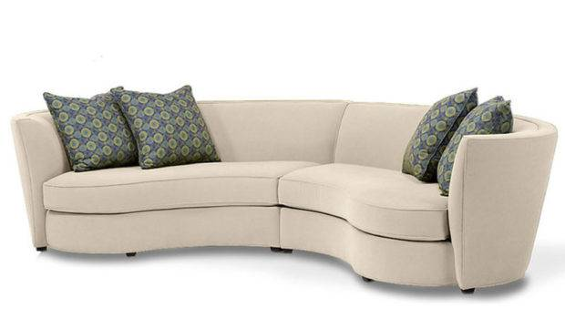 Fabric Sectional Sofas Custom Curved Shape Sofa Avelle