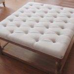 Fabric Upholstered Coffee Table Sfc