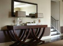 Fabulous Weathered Wood Console Table Decorating Ideas