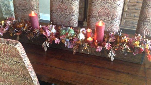 Fall Centerpiece Dining Room Table Centerpieces