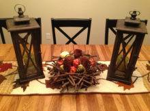 Fall Decor Lanterns Runner Indoor Outdoor Lantern Birdcage