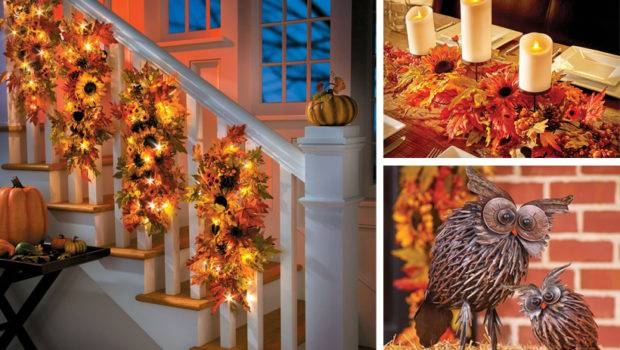 Fall Decorating Ideas Sunflower Home Decor Collection
