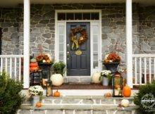 Fall Porch Decor Colorful Asymmetrical Has