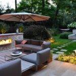 Fantastic Backyard Garden Inspiration Plus Stepping Stone Cool