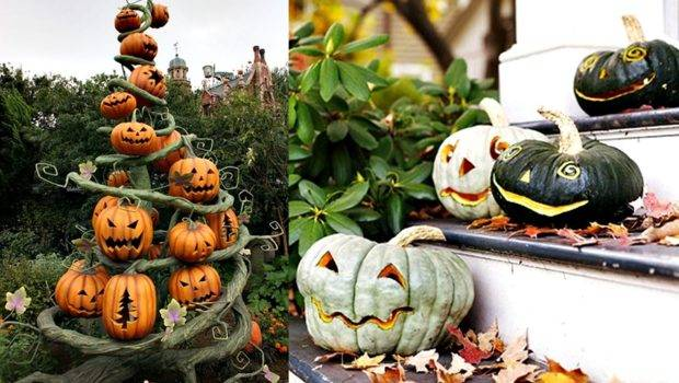 Fashion Magic Halloween Pumpkins Carving Decorating Ideas