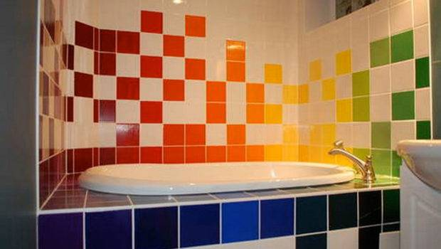 Fashionable Colorful Bathroom Tiles Instructables Iroonie