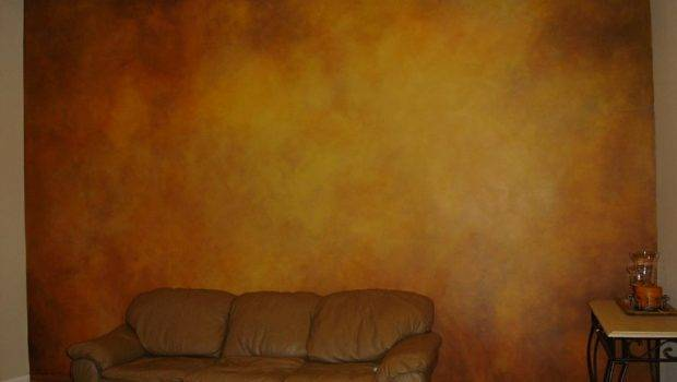 Faux Finishing Living Wall Skywoods Decorative Painting Murals