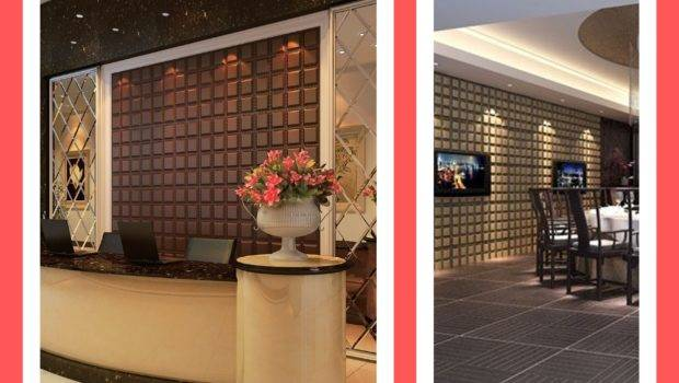 Faux Leather Tile Commercial Accent Walls Wall Panels