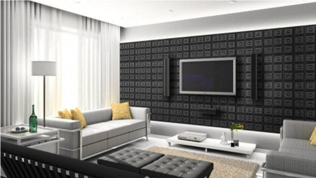 Faux Leather Wall Panels Residential Living Room All Can Say