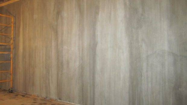 Faux Painting Cement Walls Professional Finish