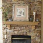 Faux Stone Veneer Fireplace Design Ideas
