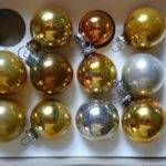 Feather Small Christmas Tree Ornaments Glass Bells Balls Lot Home