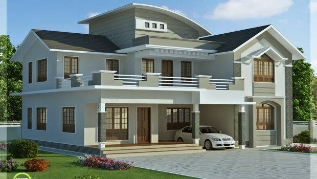 Feet Bedroom Villa Design Kerala House Idea