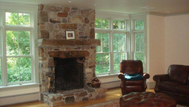 Field Stone Fireplaces Also Referred Rock
