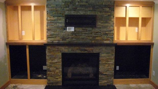 Fire Features Designer Indoor Stonework Fireplace Facade