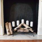 Fireplace Candle Insert