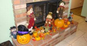 Fireplace Fall Display Style Pinterest