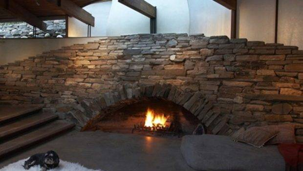 Fireplace Interior Fireplaces Natural Stone