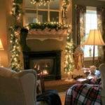 Fireplace Mantel Christmas Best Decorating