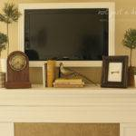 Fireplace Mantel Decor Not Just Housewife