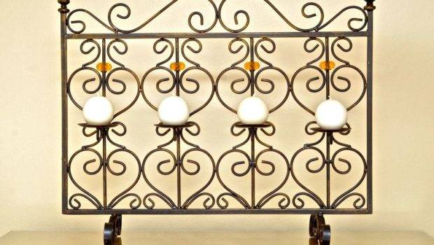 Fireplace Screen Candles Items Southwest Florida
