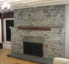 Fireplace Stacked Stone Veneer Designs