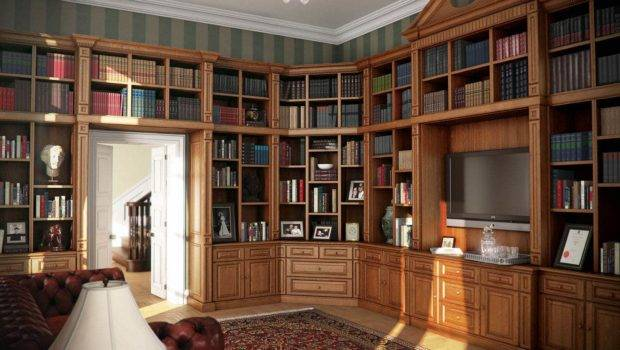 Fitted Home Libraries Bespoke Bookcases Rolling