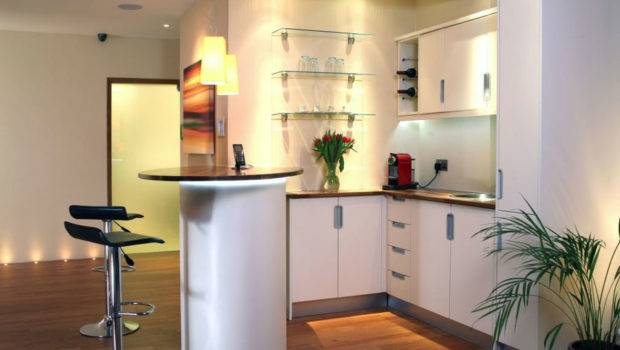 Fitted Kitchens Small Spaces Modern Home Exteriors