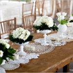 Fleur Vintage Lace Doily Table Runners Ruffled Blog
