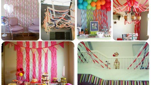 Flingers Party Shop Blog Decorate Crepe Streamers