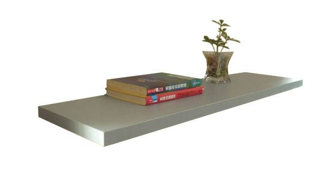 Floating Shelf Melamine Silver China