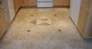 Floor Glamorous Travertine Kitchen Tile Ideas