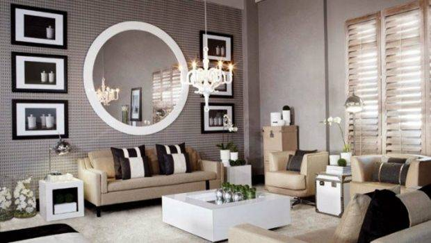 Floor Mirror Living Room Creation Home Intended
