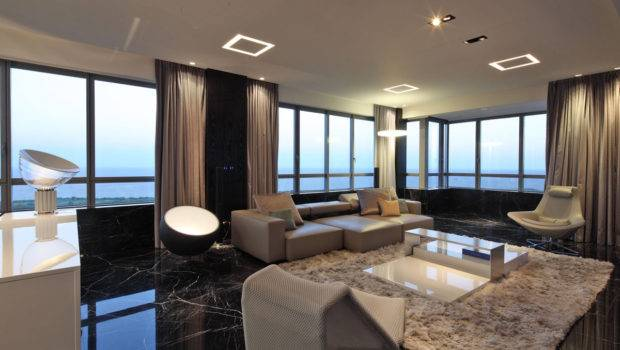Floor Modern Apartment Completed Buenos