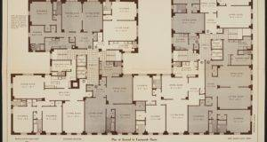 Floor Plan Individual Apartment Lines Originally
