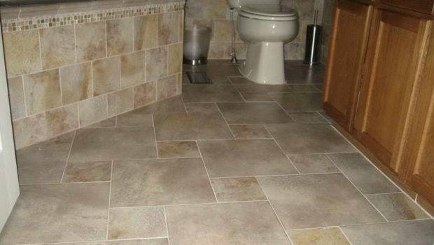Flooring Tile Patterns Bathroom Floors
